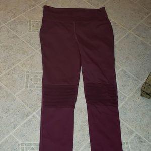 Free Peopl Movement burgundy yoga pants